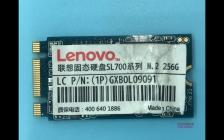 SL700系列M.2联想固态硬盘无法识别不读盘变成SATAFIRM S11完美修复成功