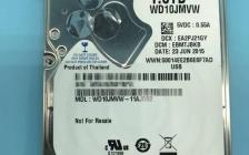 二次开盘恢复WD10JMVW-11AJGS2西部数据WD1TB移动硬盘数据恢复成功