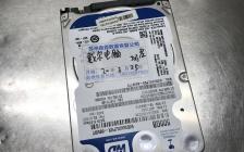 WD5000LPVX-08V0TT5通电咔咔响磁头损坏开盘数据恢复成功