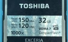 EXCERIA东芝32G CF卡损坏无法读取芯片级数据恢复读取MOV视频文件成功