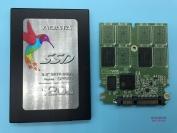 SM2256K主控突然掉盘无法读取修复成功威刚ADATA SP550 120G固态硬盘数据恢复