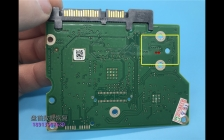 希捷硬盘电路板100617465短接点