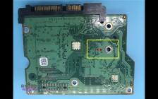 希捷硬盘电路板100535704短接点