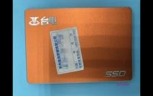 台电S500 120G固态硬盘SM2246XT主控掉盘无法识别不读盘数据恢复成功